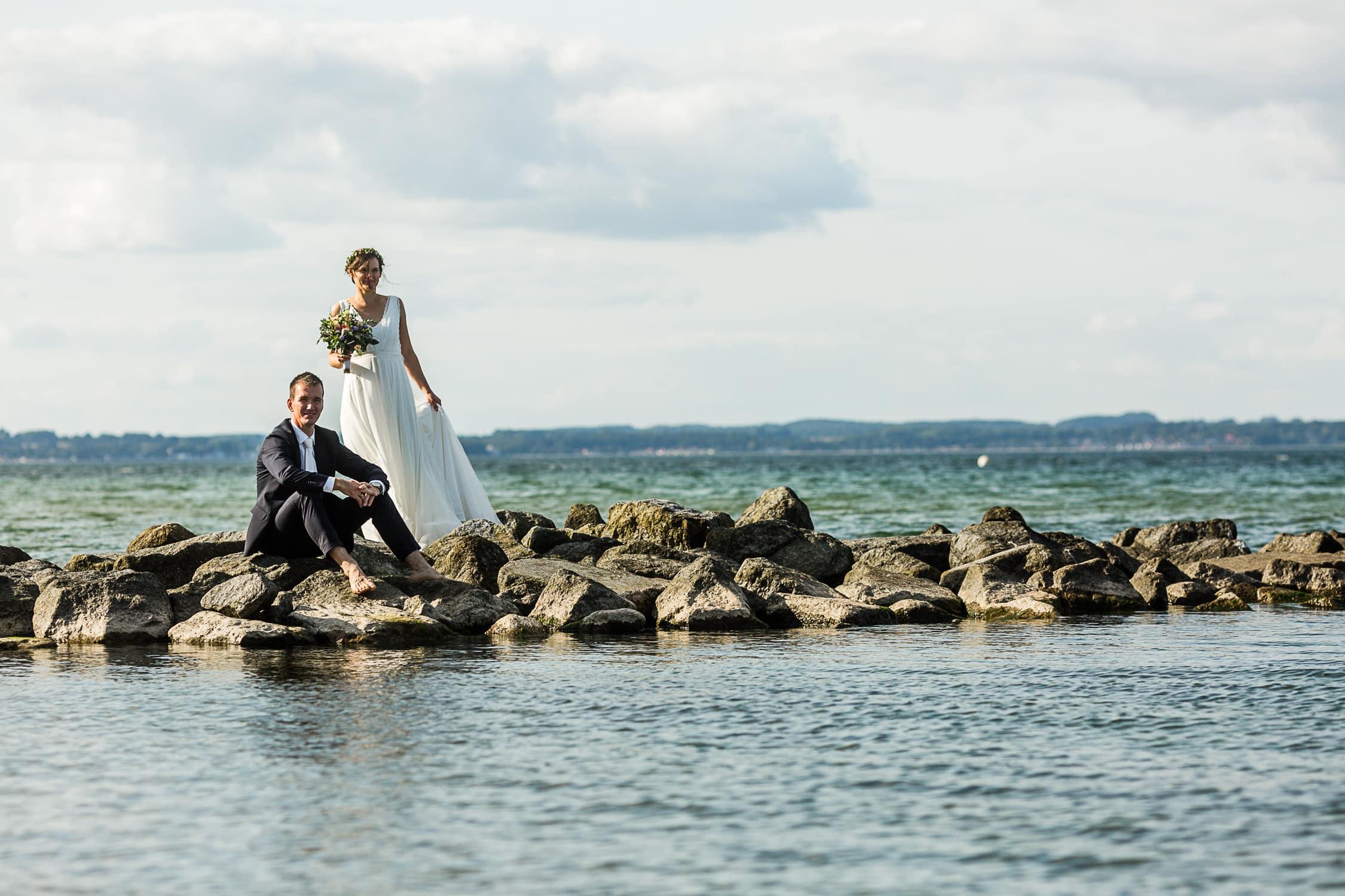Karoline & Thomas, Hochzeitsfotograf, freie Trauung in Niendorf Ostsee www.studioamkanal.de